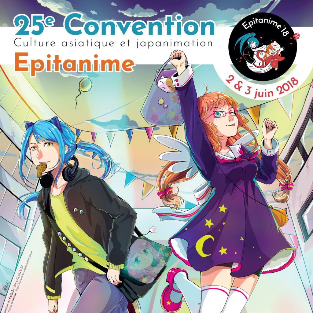 Convention Epitanime 2018 - 2 et 3 juin